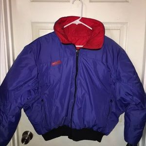 Vintage color block Columbia ski jacket ( Unisex)